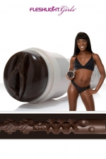 Masturbateur Fleshlight Ana Foxxx Silk - Le clone hyper réaliste du vagin d'Anna Fox, la star du porno californienne, collection Fleshlight Girls.