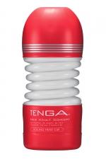 Masturbateur Rolling Head Cup - Tenga - Avec sa tête pivotante, ce masturbateur flexible offre une stimulation du gland à 360° et un serrage puissant.