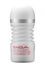 Masturbateur Rolling Head Cup Gentle - Tenga - Avec sa tête pivotante, ce masturbateur flexible offre une stimulation du gland à 360° et un serrage puissant.