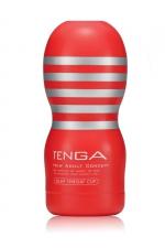 Masturbateur Tenga Deep Throat Cup Original - Sans aucun doute la meilleure fellation de votre vie avec le Tenga Original Vacuum Cup !