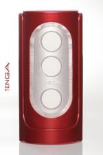Tenga  Red Flip Hole - De délicats reliefs  s'enchevêtrent autour de votre sexe pour une sensation toute nouvelle! By Tenga