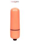 Mini vibro Bullet orange 3 vitesses - CalExotics - Petit sextoy de voyage, fun et coloré, dimensions 5,8 x 2 cm, 3 vitesses de vibration pour se faire plaisir n'importe où.