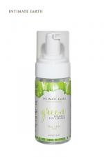 Mousse nettoyante sextoys BIO - 100 ml - Un spray nettoyant sextoys certifié Bio, pour chouchouter vos jouets intimes et votre corps.