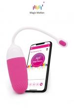 Oeuf vibrant connecté Magic Vini - Magic Motion - Le top des stimulateurs féminins connectés pour se faire plaisir en couple dans l'intimité ou dans des lieux publics.