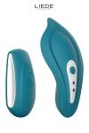 Stimulateur chauffant télécommandé Panty Vibe - océan - Luxueux mini stimulateur clitoridien télécommandé chauffant avec sa culotte spéciale fournie pour un confort maxi.