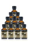Pack 10 poppers Gold Rush 24 ml - Pack de 10 Flacons de 24 ml de Poppers Gold Rush, arôme liquide érotique à base de Nitrite de Pentyle.