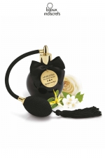 Parfum aphrodisiaque senteur florale - Brume de corps senteur Aphrodisiaque aux notes florales de rose et de jasmin par Bijoux Indiscrets.