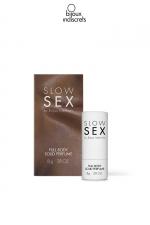 Parfum corporel solide - 8g - Parfum à la noix de coco spécialement étudié pour les parties intimes dans le respect du corps
