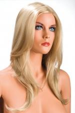 Perruque Olivia  blonde - Perruque blonde aux cheveux longs ayants un aspect naturel. Elle tombe à merveille sur les épaules.