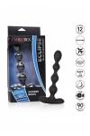 Chapelet anal Eclipse Slender Beads - Une chaine anale vibrante (12 modes de vibrations), flexible pour s'adapter à votre anatomie, en silicone haute qualité.