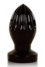Plug anal presse-citron - Stimulateur anal géant en forme de presse-agrumes, gamme All Black.