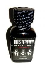Poppers Amsterdam Black  label 24ml - Le poppers Amsterdam dans une nouvelle formule encore plus forte, Black Label oblige!