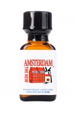 Poppers New Amsterdam 24 ml - The new Amsterdam c'est le nom du nouveau Poppers Amsterdam à base de Nitrite d'Amyl aux effets longue durée.