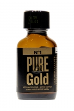 Poppers Pure Gold 24ml - Poppers à base de nitrite d'amyle, ultra fort et ultra pur, pour des moments festifs intenses.