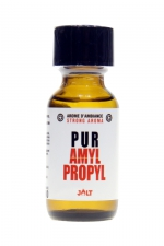 Poppers Pur Amyl-Propyl 25ml - Jolt - Arôme d'ambiance hybride (un mix d'Amyle et de Propyle) de la collection PUR de Jolt, en flacon de 25 ml.