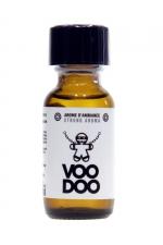 Poppers Voodoo 25ml - Aphrodisiaque d'ambiance hybride (amyl + propyl) procurant des sensations extra fortes (flacon de 25 ml).