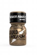 Poppers Gold Rush 10 ml - A base de nitrite d'Amyle, c'est le poppers le plus fort du marché (flacon de 10 ml).