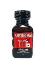 Poppers amsterdam special 24 ml - Le poppers Amsterdam SPECIAL en flacon de 24 ml dans une nouvelle formule à l'Amyle améliorée.