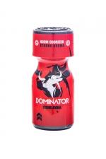Poppers Red Dominator 10ml - Arôme aphrodisiaque ultra puissant au Nitrite d'Amyle, fabriqué en France par le laboratoire Jolt(flacon de 10 ml).