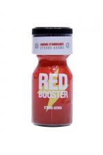 Poppers Red Booster 10ml - Un puissant arôme d'ambiance aphrodisiaque à base d'amyle, pour profiter à fond des plaisirs du sexe et des moments de fête.