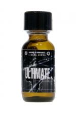 Poppers Ultimate 25ml - Arôme d'ambiance ultra fort à l'Amyle, pour vivre des moments de plaisir ultimes ! Flacon de 25 ml.