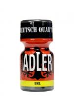 Poppers Adler 10 ml - Arôme liquide érotique à base de Nitrite d'Amyle, très fort, pour utilisateurs aguerris.