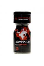 Poppers Black Dominator 10ml - Aphrodisiaque d'ambiance hybride (amyl + propyl) Ultra puissant (flacon de 10 ml), élaboré par Jolt.
