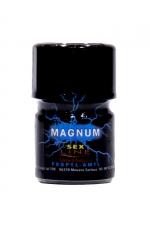 Poppers Sexline Magnum Bleu 15ml - Grâce à sa large ouverture, le poppers Sex Line bleu Magnum hybride amyle + propyle a un effet ultra fort et intense.
