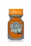 Poppers Juice zero 10 ml - Poppers hybride pour des sensations max et confort accru avec fermeture  Mega Pellet, en petit flacon de 10 ml.