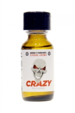 Poppers Crazy Propyl 25ml - Crazy Propyl est un arôme aphrodisiaque au Nitrite de Propyle, offrant des sensations fortes et immédiates (flacon de 25 ml).