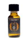 Poppers Jolt Silver Amande 25ml - Puissant arôme d'ambiance aphrodisiaque à l'odeur d'amande. Poppers made in France by Jolt, Nitrite de Propyle, flacon de 25 ml.
