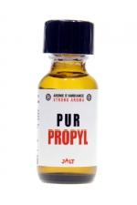 Poppers Pur Propyl Jolt 25ml - arôme aphrodisiaque haute qualité de la collection Pur de Jolt au Nitrite de Propyle, spécial sensations fortes, flacon de 25 ml.