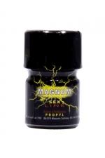 Poppers Sexline Magnum Jaune 15ml - Grâce à sa large ouverture, le poppers Sex Line jaune Magnum au Propyl est encore plus fort et plus intense que la version classique.