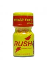 Poppers Rush 10 ml - Avec son flacon jaune, on le reconnait entre tous: Poppers Rush, exigez l'original!