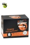 Assortiment 50 Préservatifs Crazy Monkey - Crazy Monkey présente sa crazy collection avec un assortiment de 50 préservatifs pour satisfaire toutes vos envies.
