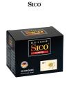 50 préservatifs Sico DRY - Boite de 50 préservatifs haute qualité non lubrifiés pour la pratique du sexe au naturel et sans risque.