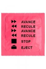 Préservatif humour - Avance Recule - Préservatif Avance Recule, un préservatif personnalisé humoristique de qualité, fabriqué en France, marque Callvin.