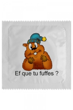 Préservatif humour - Ef Que Tu Fuffes - Préservatif Ef Que Tu Fuffes, un préservatif personnalisé humoristique de qualité, fabriqué en France, marque Callvin.
