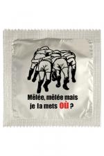 Préservatif humour - Je La Mets Ou - Préservatif Je La Mets Ou, un préservatif personnalisé humoristique de qualité, fabriqué en France, marque Callvin.