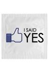 Préservatif humour - I Said Yes - Préservatif  I Said Yes, un préservatif personnalisé humoristique de qualité, fabriqué en France, marque Callvin.