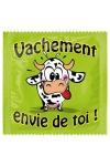 Préservatif humour - Vachement Envie De Toi - Préservatif Vachement Envie De Toi, un préservatif personnalisé humoristique de qualité, fabriqué en France, marque Callvin.