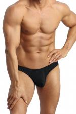 String Petrol - Anaïs for Men - Superbe string en tissu noir doux au toucher. Fabriqué en Europe.