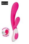 Vibromasseur Rabbit Uriah - Un vibro Rabbit 100% silicone avec contrôle vocal.